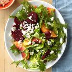 Nectarine and Beet Salad