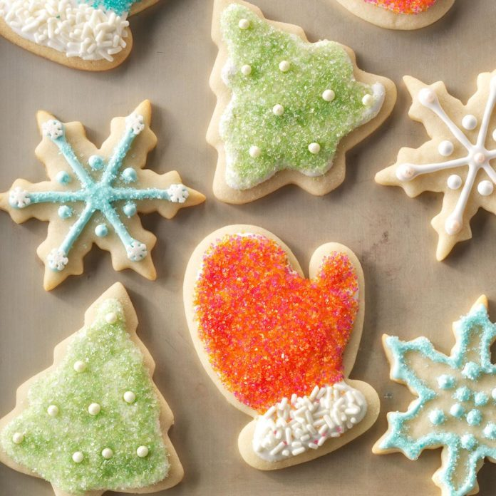 Inspired by: Lofthouse Holiday Sugar Cookies