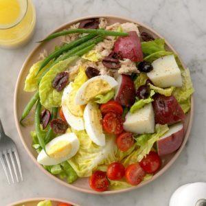 How to Make a Nicoise Salad