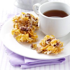 No-Bake Cornflake Cookies