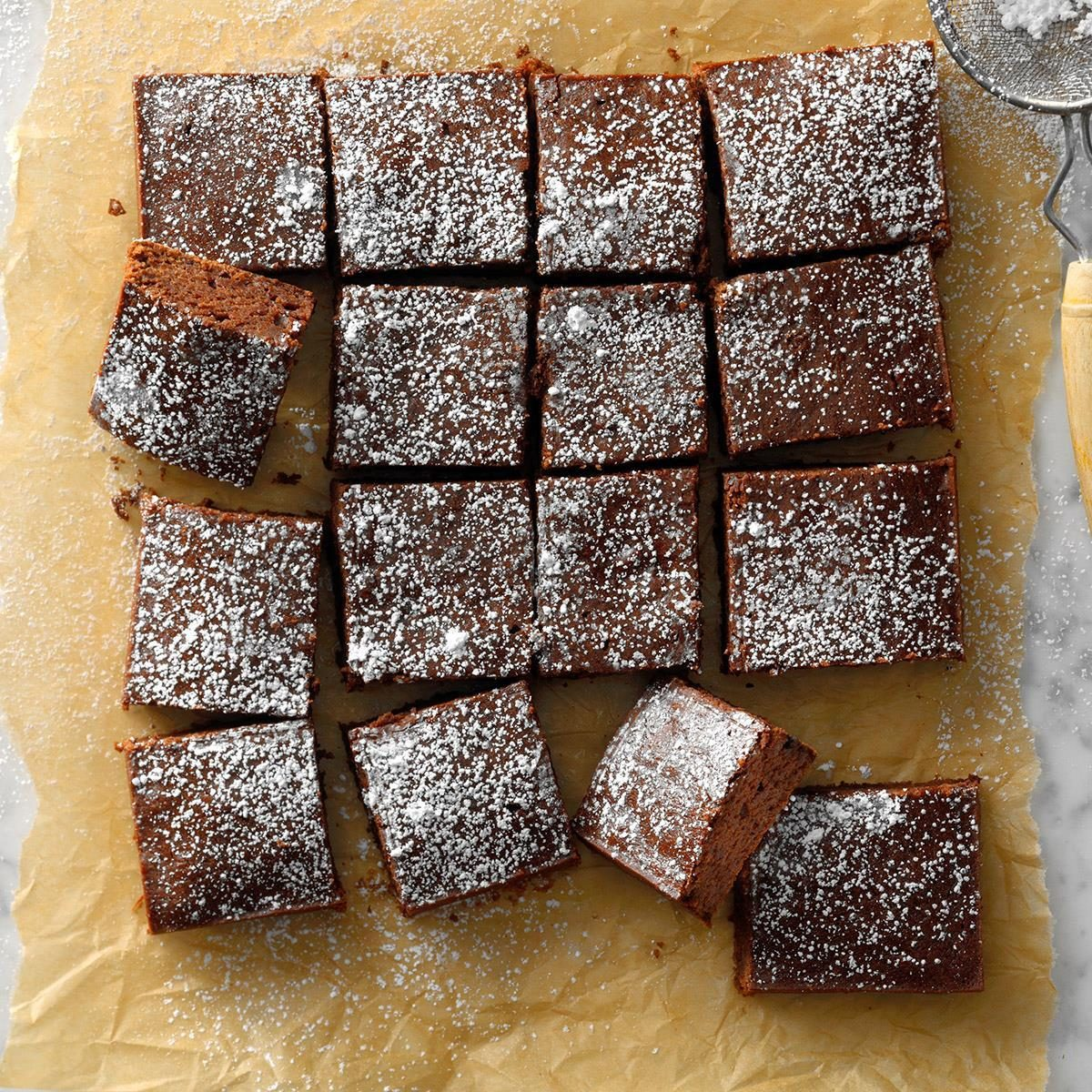 noguilt brownies recipe  taste of home