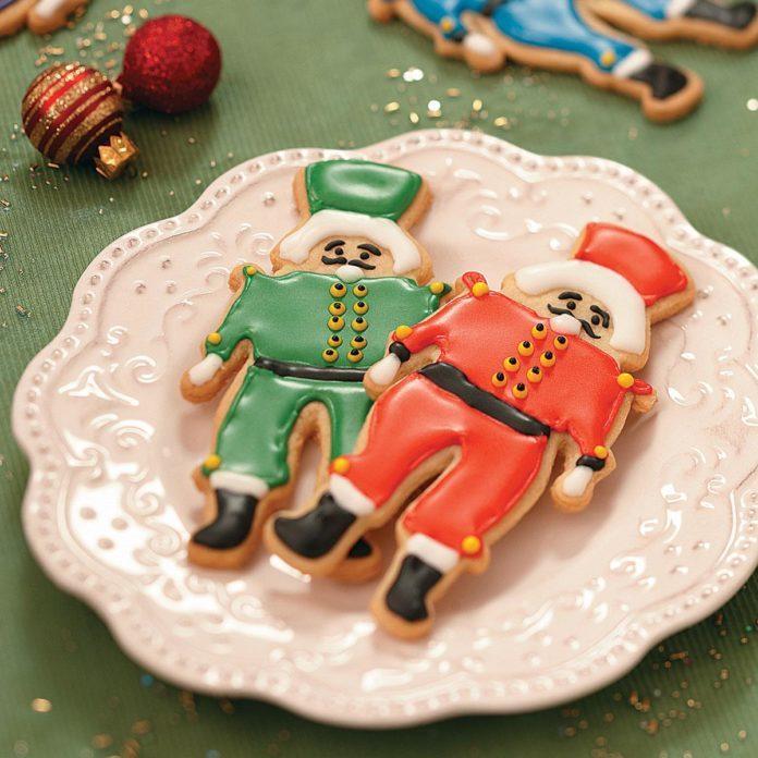 Nutcracker Butter Cookies