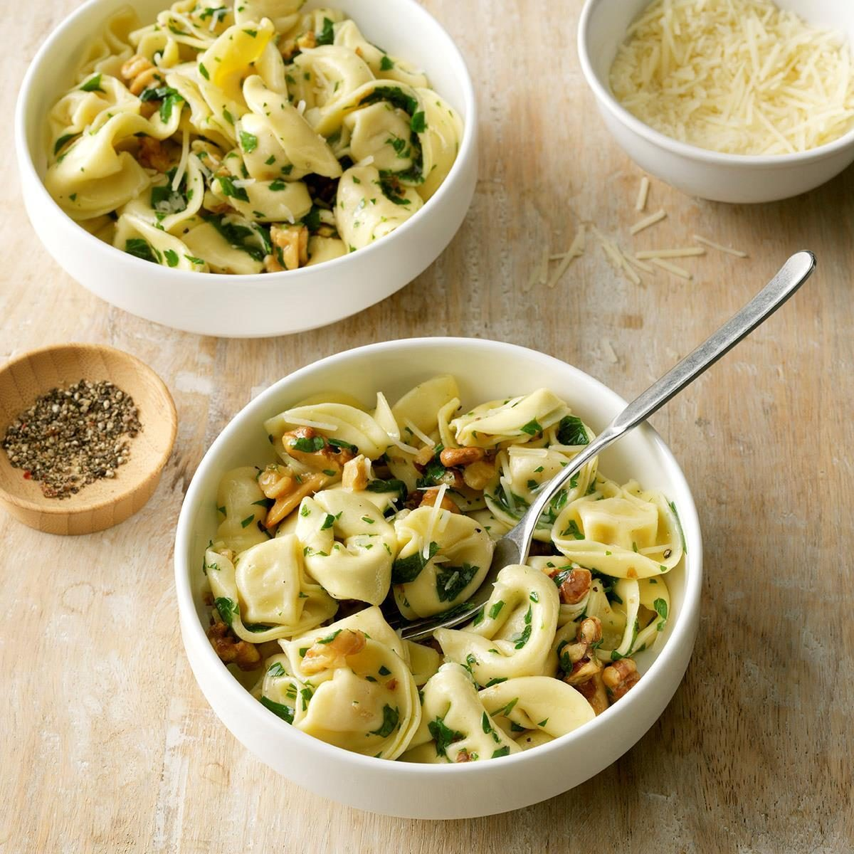 Nutty Cheese Tortellini