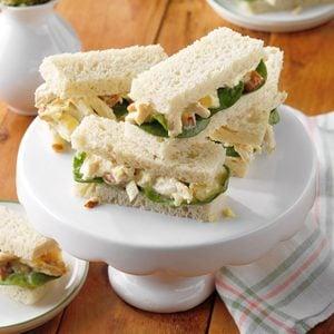 Nutty Chicken Sandwiches