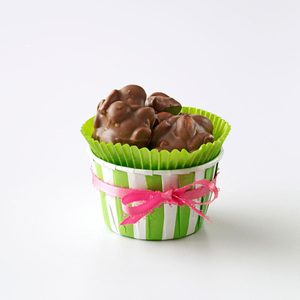 Nutty Chocolate Peanut Clusters