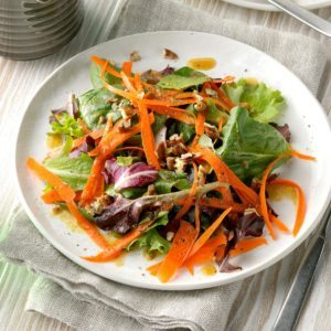Nutty Green Salad