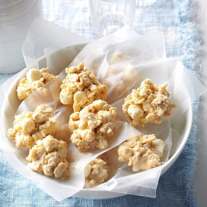 Nutty Rice Krispie Cookies