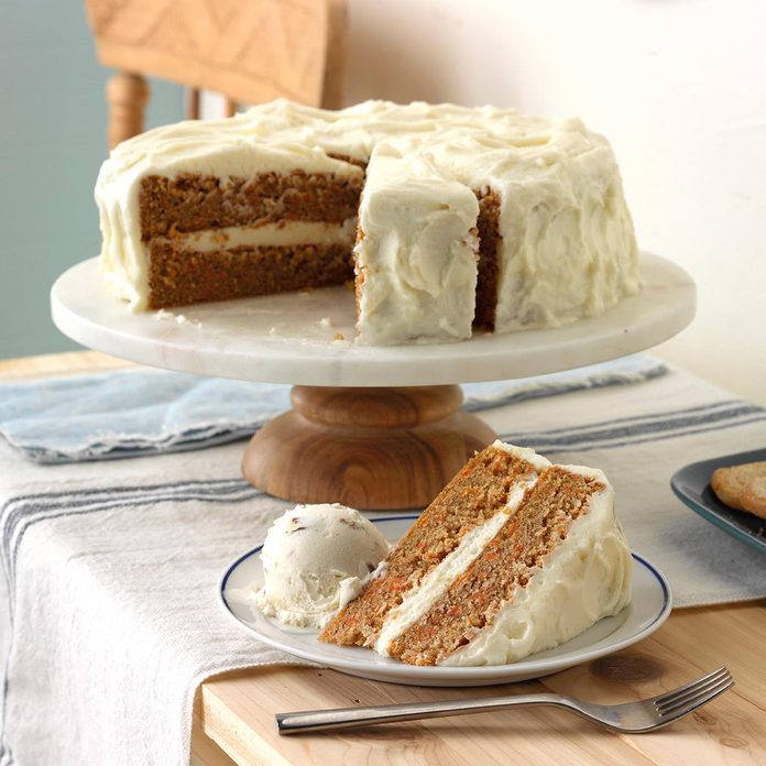 Old Fashioned Carrot Cake With Cream Cheese Frosting Exps Mcsmz17 14593 D01 05 7b 5