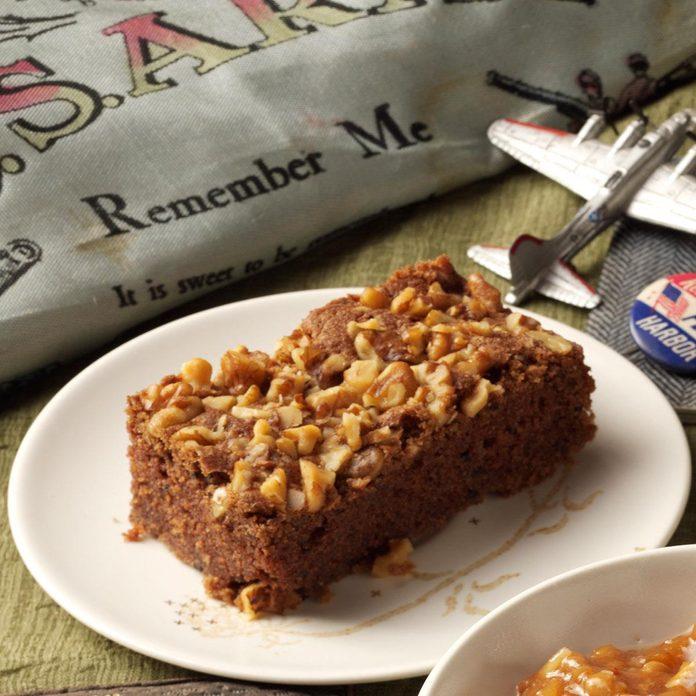 Old-Fashioned Chocolate Cake
