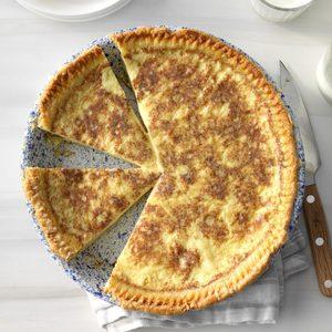 Old-Fashioned Custard Pie