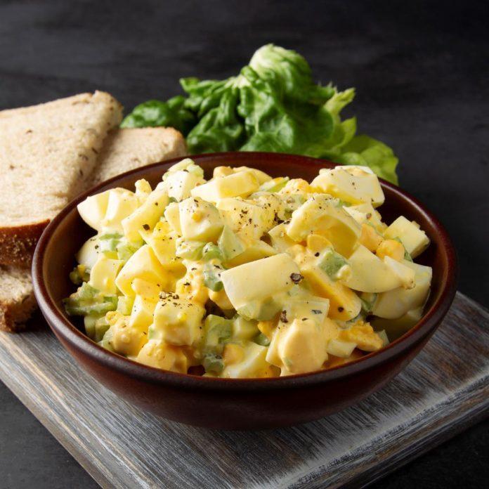 Old Fashioned Egg Salad Recipe Taste Of Home