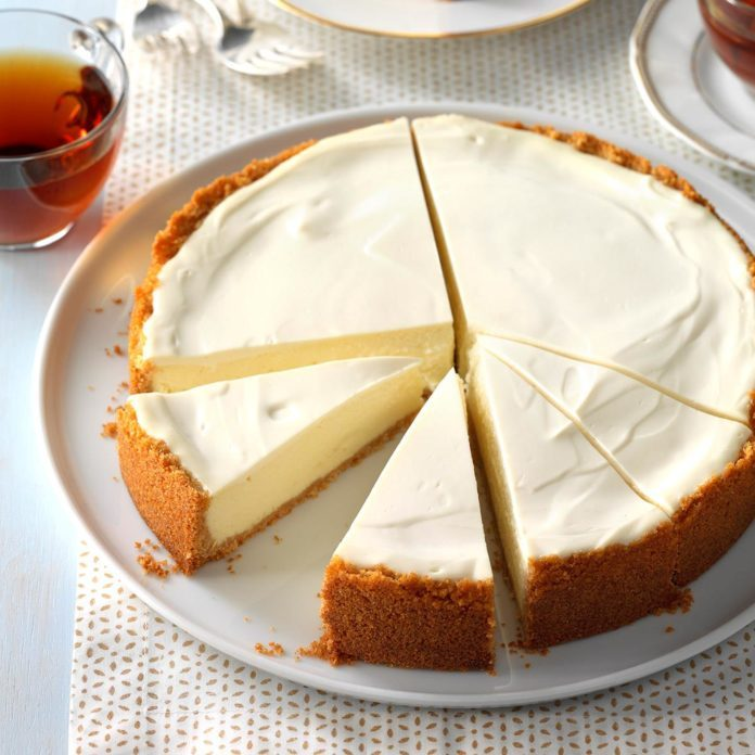 Day 27: Old-World Ricotta Cheesecake