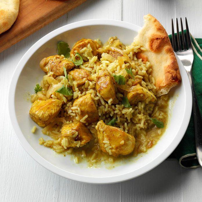 One Pan Chicken Rice Curry Exps Sddj17 194862 B08 04 5b 3