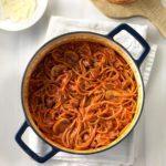 One-Pot Spaghetti Dinner