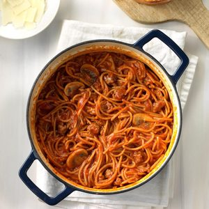 One-Pot Spaghetti Dinner