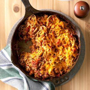 One-Skillet Pasta