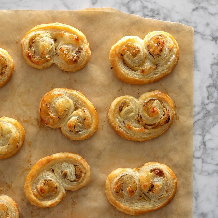 Onion Brie Appetizers
