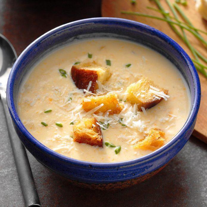 Onion Cheese Soup