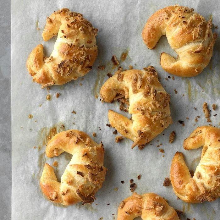 Easy Onion Crescent  Rolls