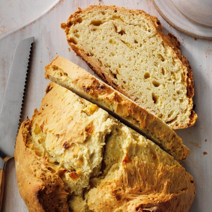 Onion & Garlic Soda Bread