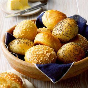 Onion Mustard Buns