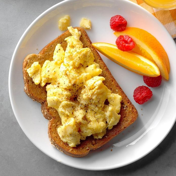 Open-Faced Egg Sandwiches