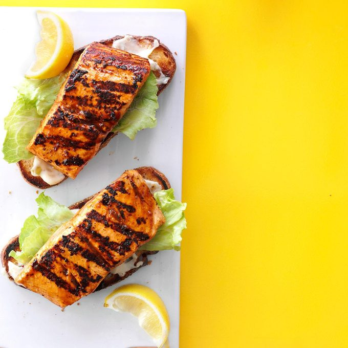 Open Faced Grilled Salmon Sandwiches Exps82861 Th143192d02 11 1bc Rms 2