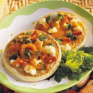 Open-Faced Veggie Sandwiches