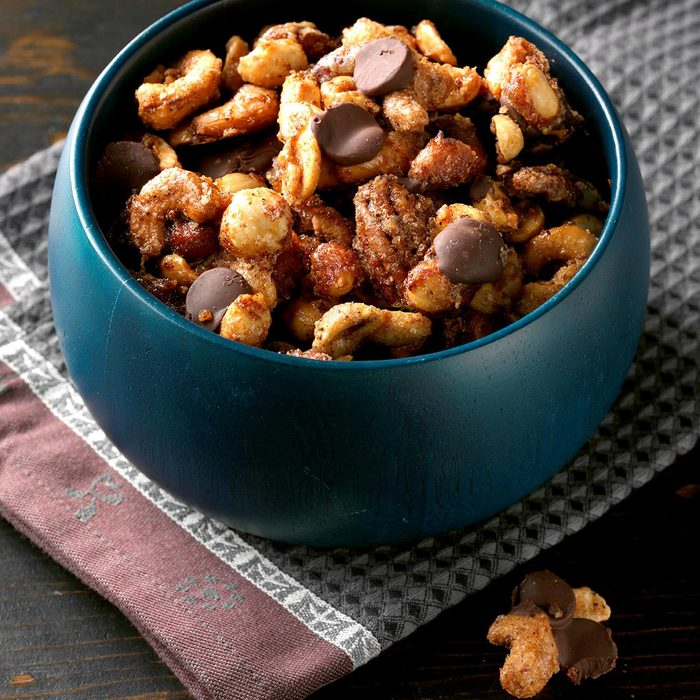 Orange-Ancho Spiced Nuts