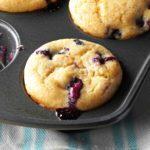 Orange-Berry Yogurt Muffins