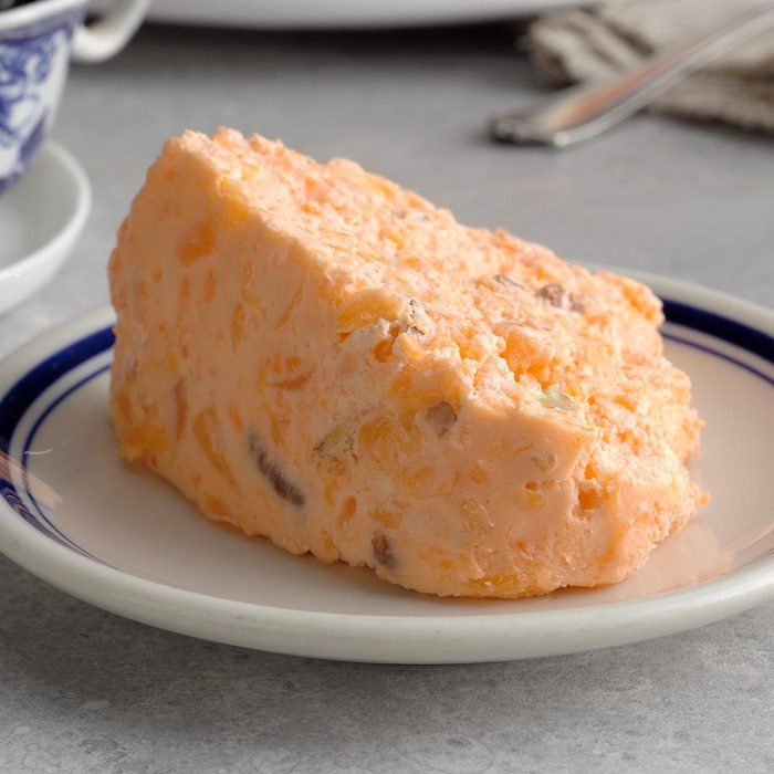 Orange Buttermilk Gelatin Salad Mold Exps Tcbz19 4542 B05 17 4b