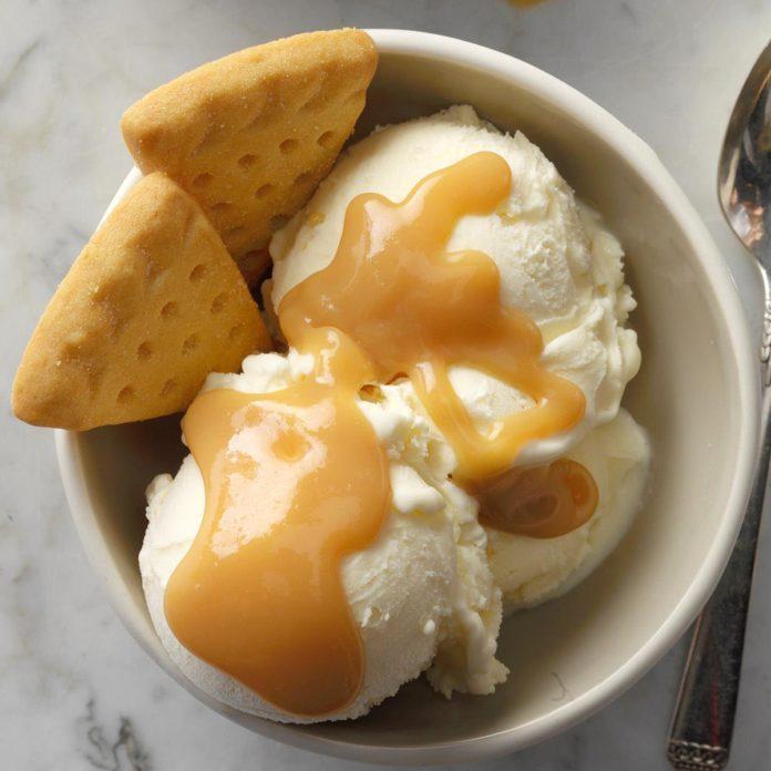 Orange Caramel Ice Cream Sauce