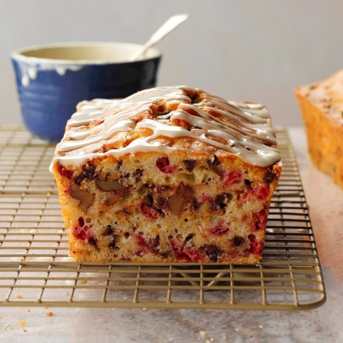 Orange-Chip Cranberry Bread
