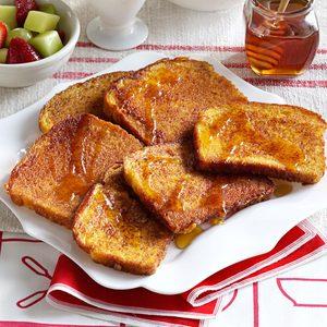 Orange-Cinnamon French Toast