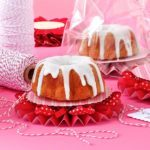 Orange Cranberry Pound Cake with Vanilla Glaze