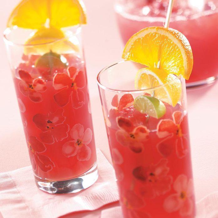 Orange Cranberry Punch