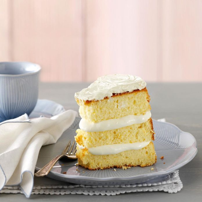 California: Orange Cream Chiffon Cake