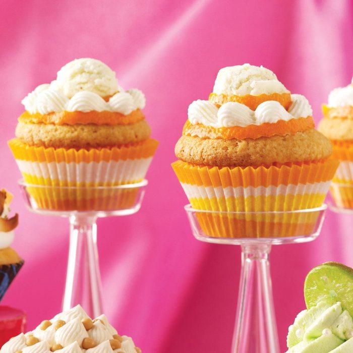 Orange Cream-Filled Cupcakes