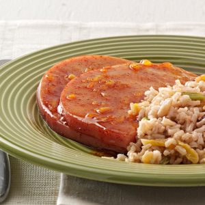 Orange-Glazed Ham Steaks