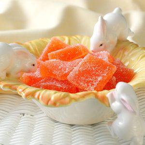 Orange Jelly Candies