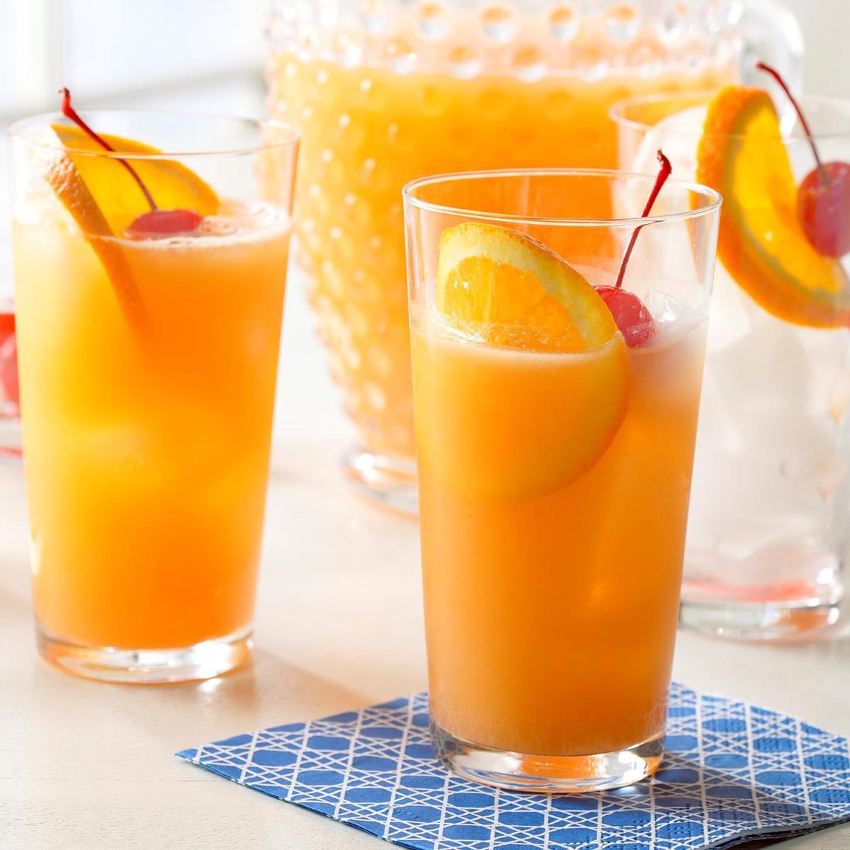 Orange Juice Spritzer Recipe |...