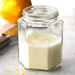 Orange Yogurt Dressing