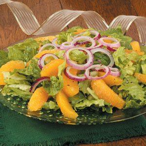 Orange and Red Onion Salad