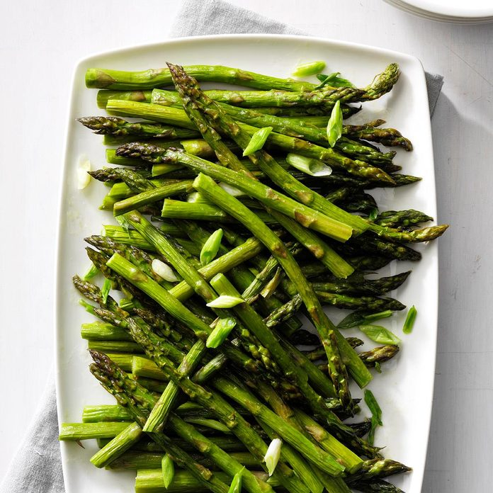 Oven Roasted Asparagus Recipe How To Make It Taste Of Home