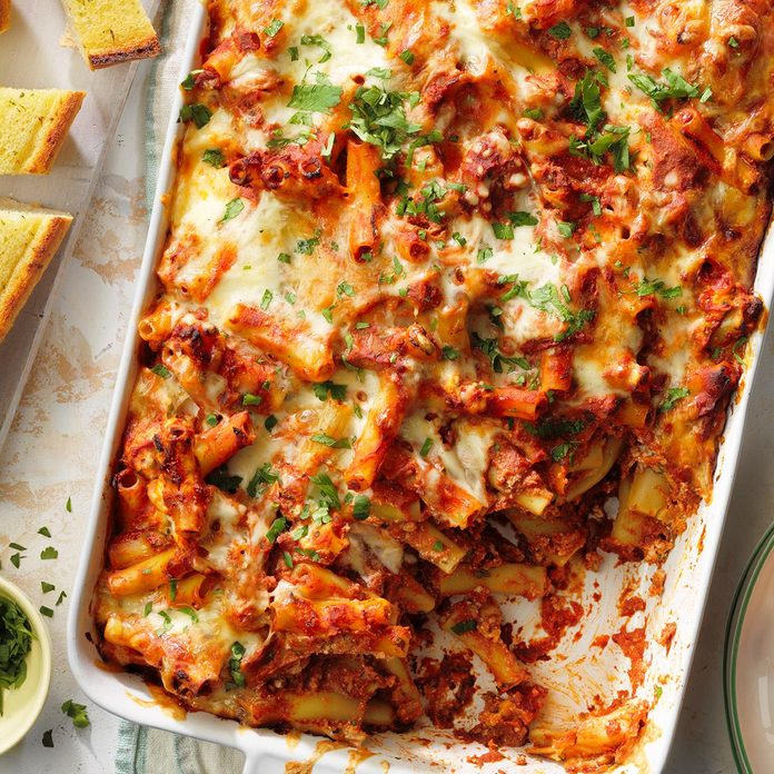 Over-the-Top Baked Ziti