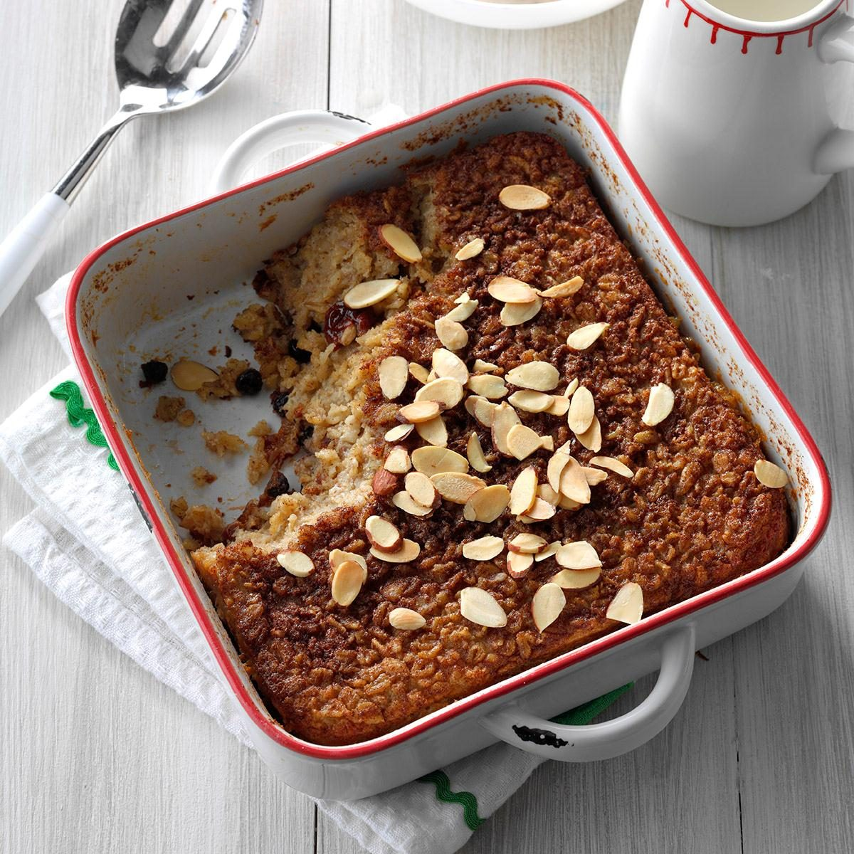 Overnight Baked Oatmeal