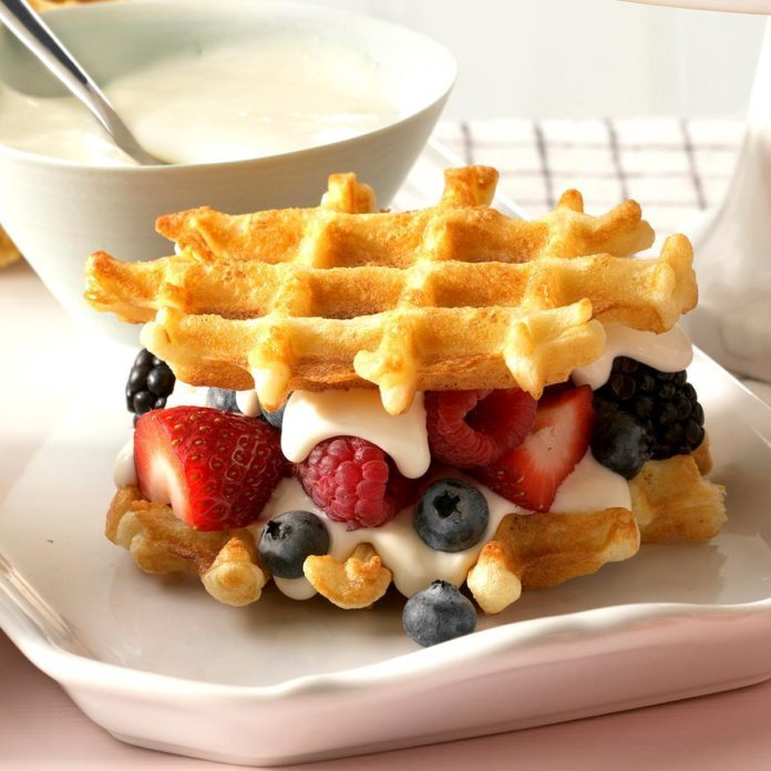 Overnight Yeast Waffles