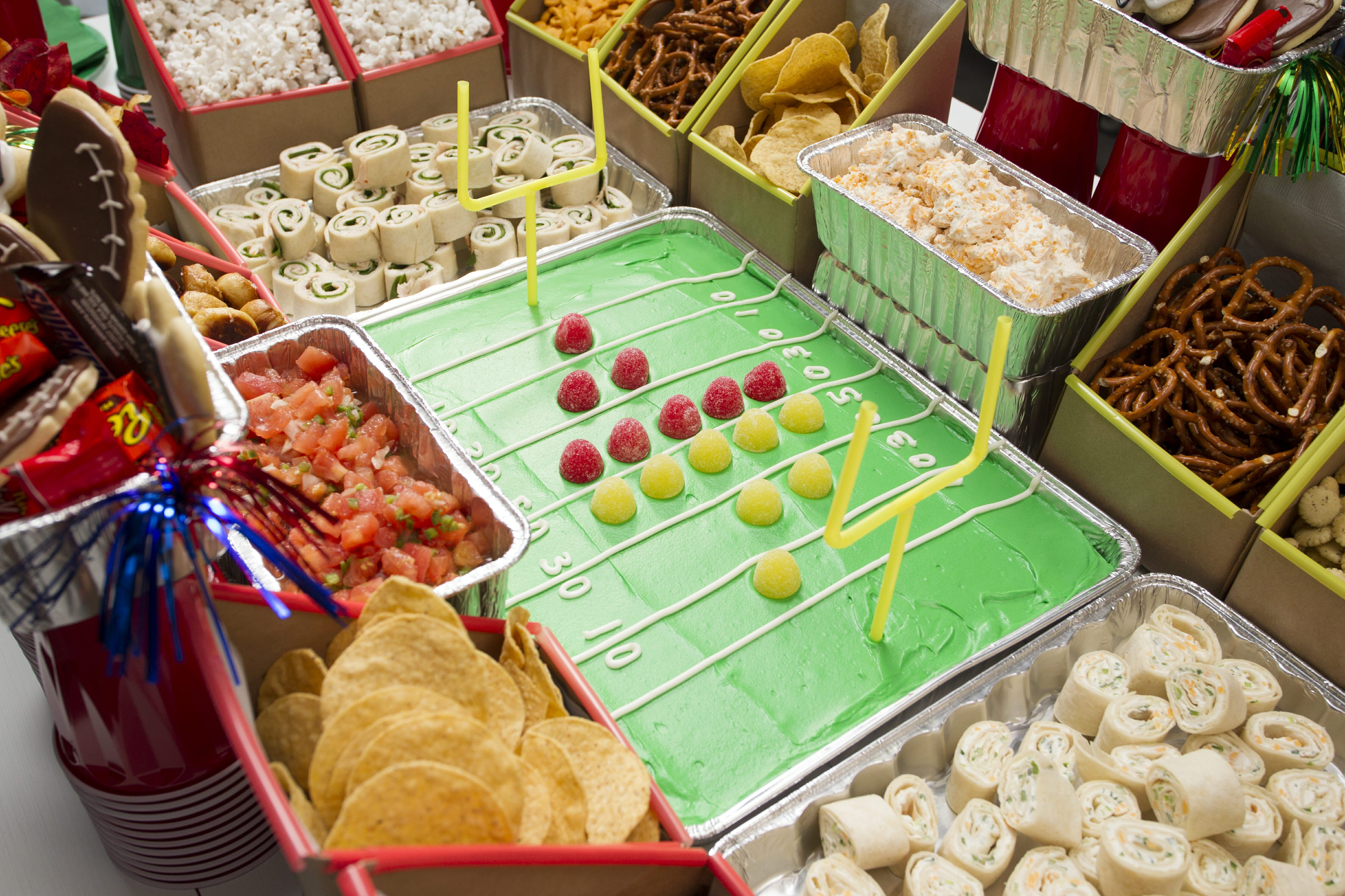 How To Build A Super Bowl Snack Stadium Taste Of Home