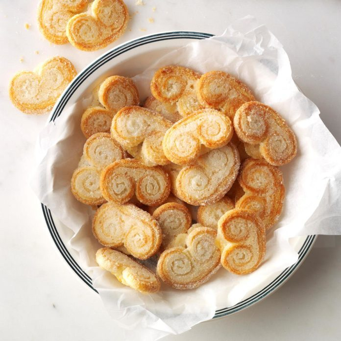 Inspired by Frances's Palmiers