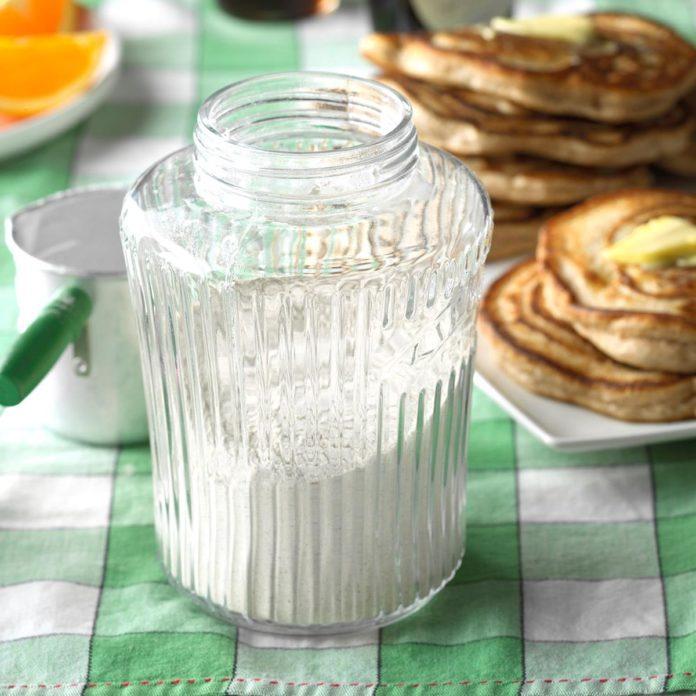 Pancake Mix in a Jar